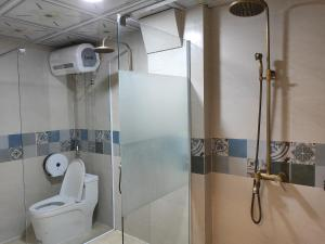 A bathroom at Bonjour Sa Pa Hotel