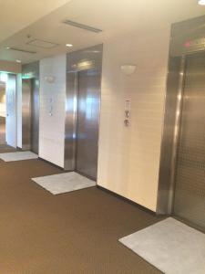 A bathroom at Nagoya Creston Hotel
