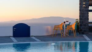 The swimming pool at or near Anemomilos