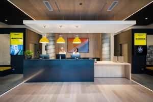 The lobby or reception area at Staycity Aparthotels Venice Mestre