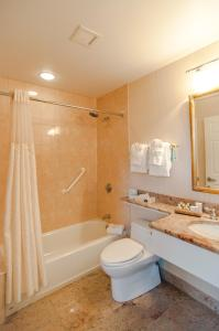 A bathroom at The Hotel Northampton