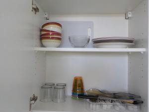 A cozinha ou cozinha compacta de Apartment Studio Halfon