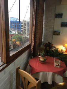 A restaurant or other place to eat at Miraflores Centre