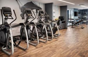 The fitness center and/or fitness facilities at Colorado Springs Marriott