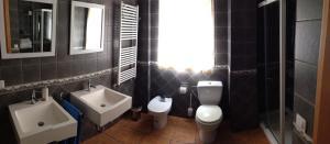A bathroom at Casa Rosaire