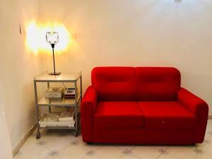 A seating area at Dimora dei Mercanti