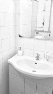 A bathroom at Dimora dei Mercanti