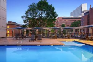 The swimming pool at or close to Wyndham Boston Beacon Hill