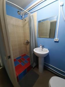 Ванная комната в Хостел Республика