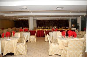 Comodidades para banquetes no hotel