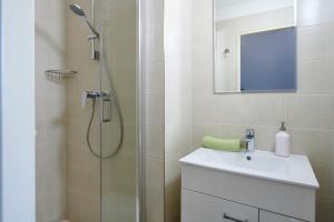 Koupelna v ubytování Apartment Ostrava