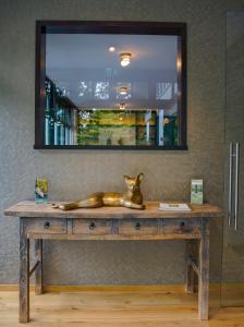 A bathroom at Essensio Hotel Düsseldorf