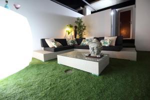 Zona de estar de VILA TABARCA QUALITY & LUXURY