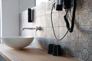 Een badkamer bij Hotel Schöne Aussicht