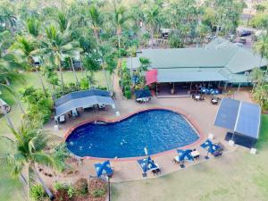 A bird's-eye view of Darwin FreeSpirit Resort