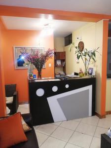 Hall ou réception de l'établissement Nasca Travel One Hostel