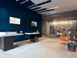 Hall o reception di ibis Styles Bangkok Sukhumvit 4