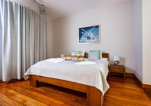 A bed or beds in a room at Arka Medical Spa