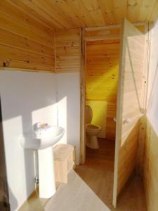 Ванная комната в Лесной Отель Берендеев Лес