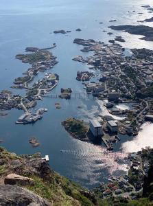 Vista aerea di Berg Apartments