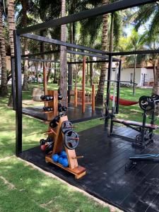 The fitness centre and/or fitness facilities at Peppercorn Beach Resort