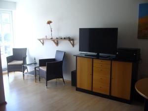 TV/Unterhaltungsangebot in der Unterkunft Ferienwohnung Haus Waldesruh