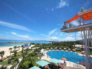 A view of the pool at Sheraton Okinawa Sunmarina Resort or nearby