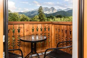 A balcony or terrace at Royal Hill Residence