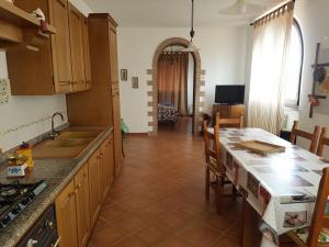 Кухня или мини-кухня в Agriturismo La Steccaia Alta
