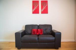 A seating area at Holywell Way Swords