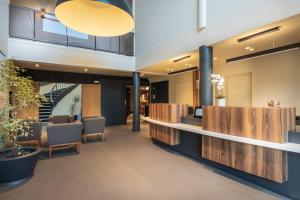 The lobby or reception area at Domaine du Gouverneur, Hôtel, Restaurant & Golf