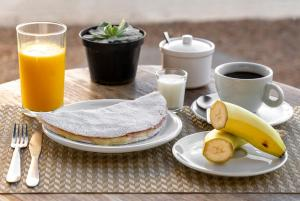 Breakfast options available to guests at Hostel SP011