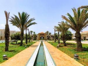 Jardin de l'établissement Oasis Saidia Palace