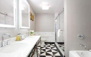 A bathroom at Chamberlain West Hollywood