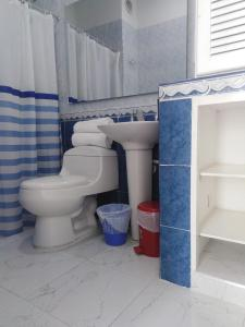 Un baño de Hotel Zamba