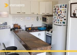 A kitchen or kitchenette at Atlantic City Apart Service