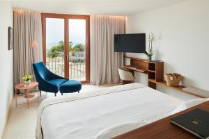 Łóżko lub łóżka w pokoju w obiekcie Es Princep - The Leading Hotels of the World