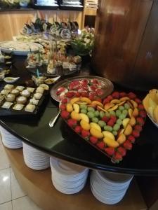 Jídlo v hotelu nebo okolí