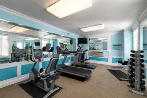 The fitness center and/or fitness facilities at The Georgian Hotel