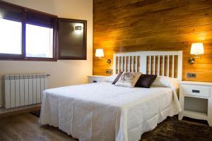 Cama o camas de una habitación en Lares · Cabañas Rurales