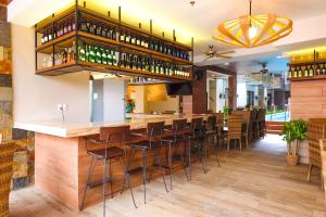 The lounge or bar area at The Piccolo Hotel of Boracay
