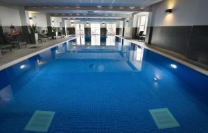 The swimming pool at or near Macdonald Inchyra Hotel & Spa