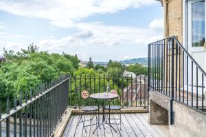 A balcony or terrace at Oldfields House