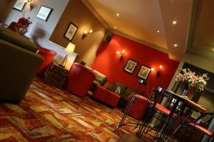 The lounge or bar area at Beamish Park Hotel