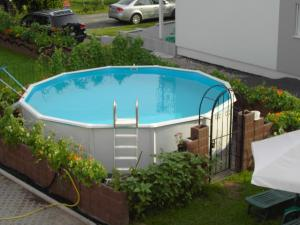 The swimming pool at or near Hessisches Haus