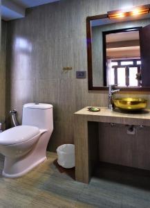 A bathroom at Sabila Boutique Hotel