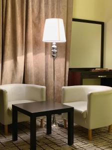 منطقة جلوس في Mirage Hotel Jazan