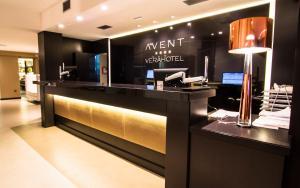 El vestíbulo o zona de recepción de Avent Verahotel