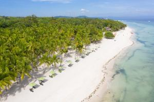 Et luftfoto af South Palms Resort Panglao