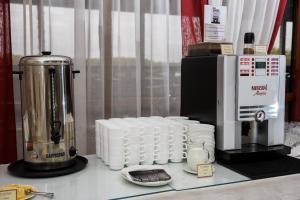 Принадлежности для чая и кофе в АМАКС Отель Омск
